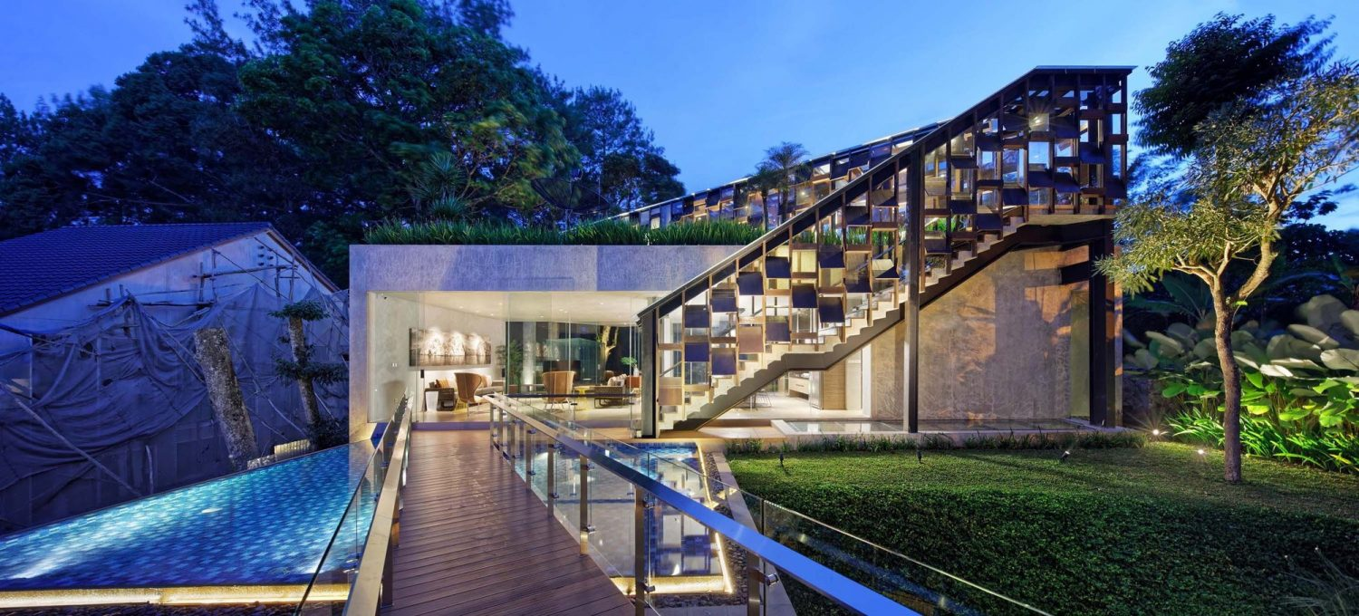Hanging Villa by TWS & Partners