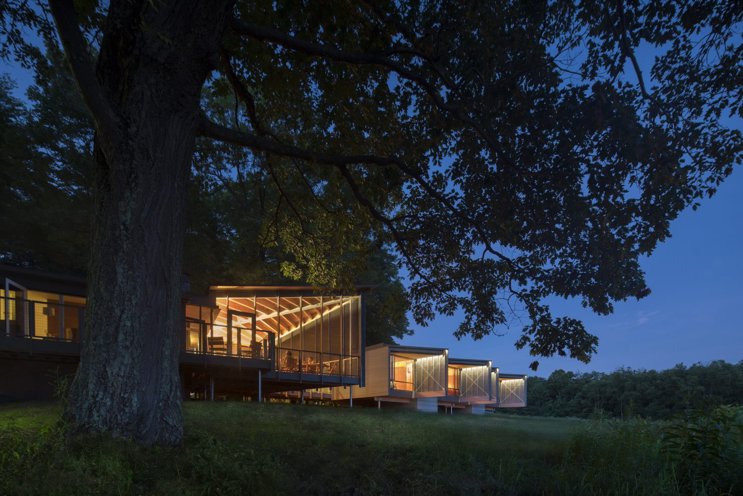 High Meadow Dwellings at Fallingwater by Bohlin Cywinski Jackson