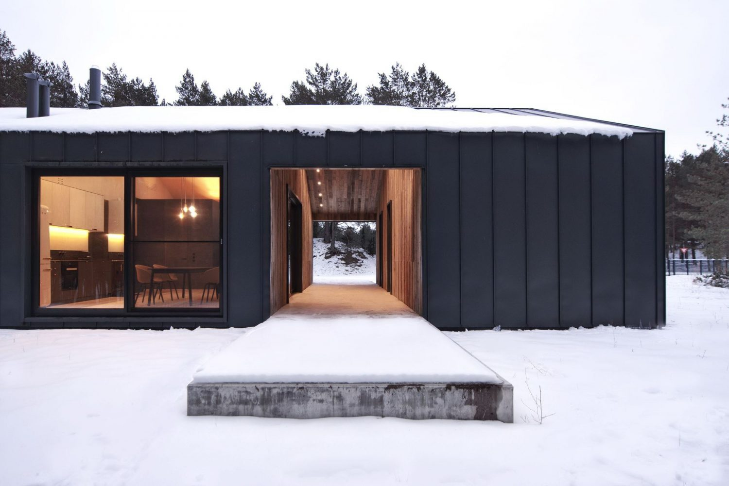 Interior ILL | Small Barn House by INT2architecture