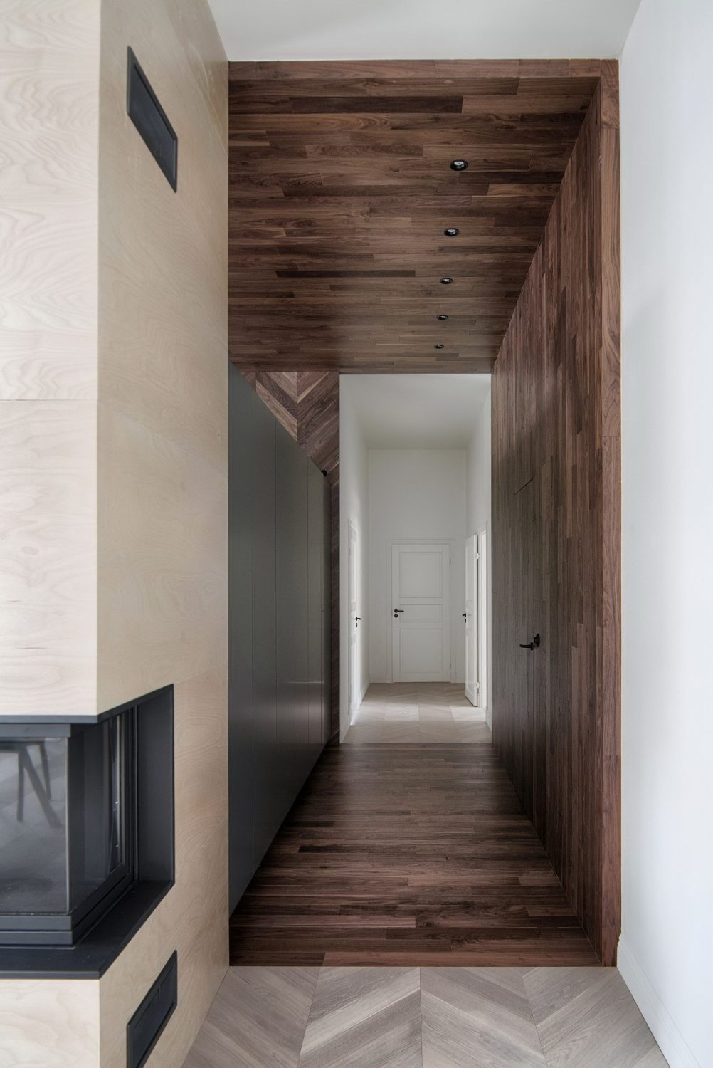 Interior KG | Renovated Apartment in Old Revenue House by INT2 architecture