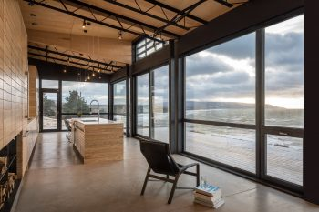 The Lookout at Broad Cove Marsh by Omar Gandhi Architect