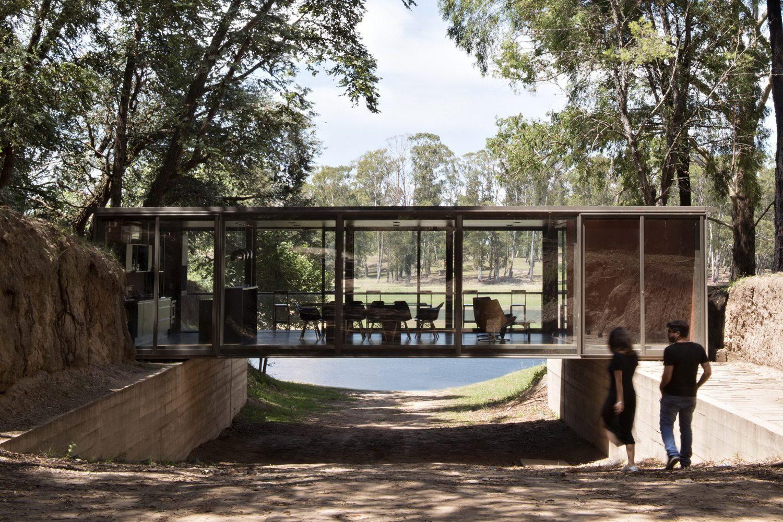 Bridge Pavilion by alarciaferrer arquitectos