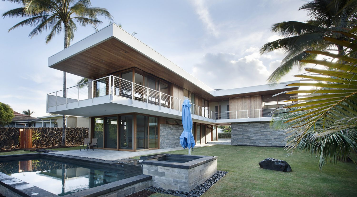 Island House by Michael Piche