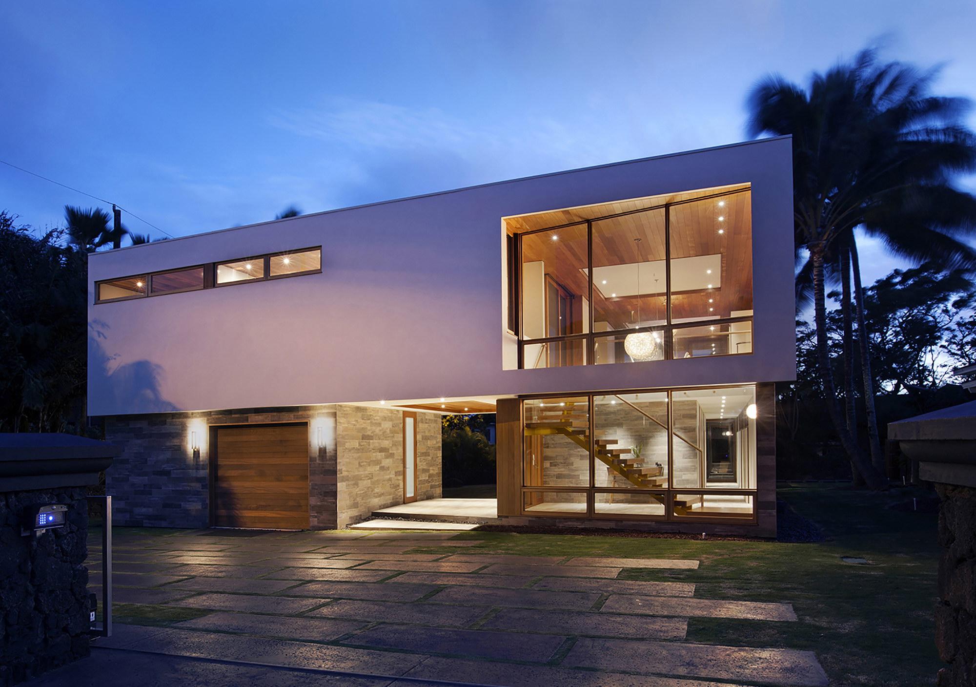 Island House by Michael Piche
