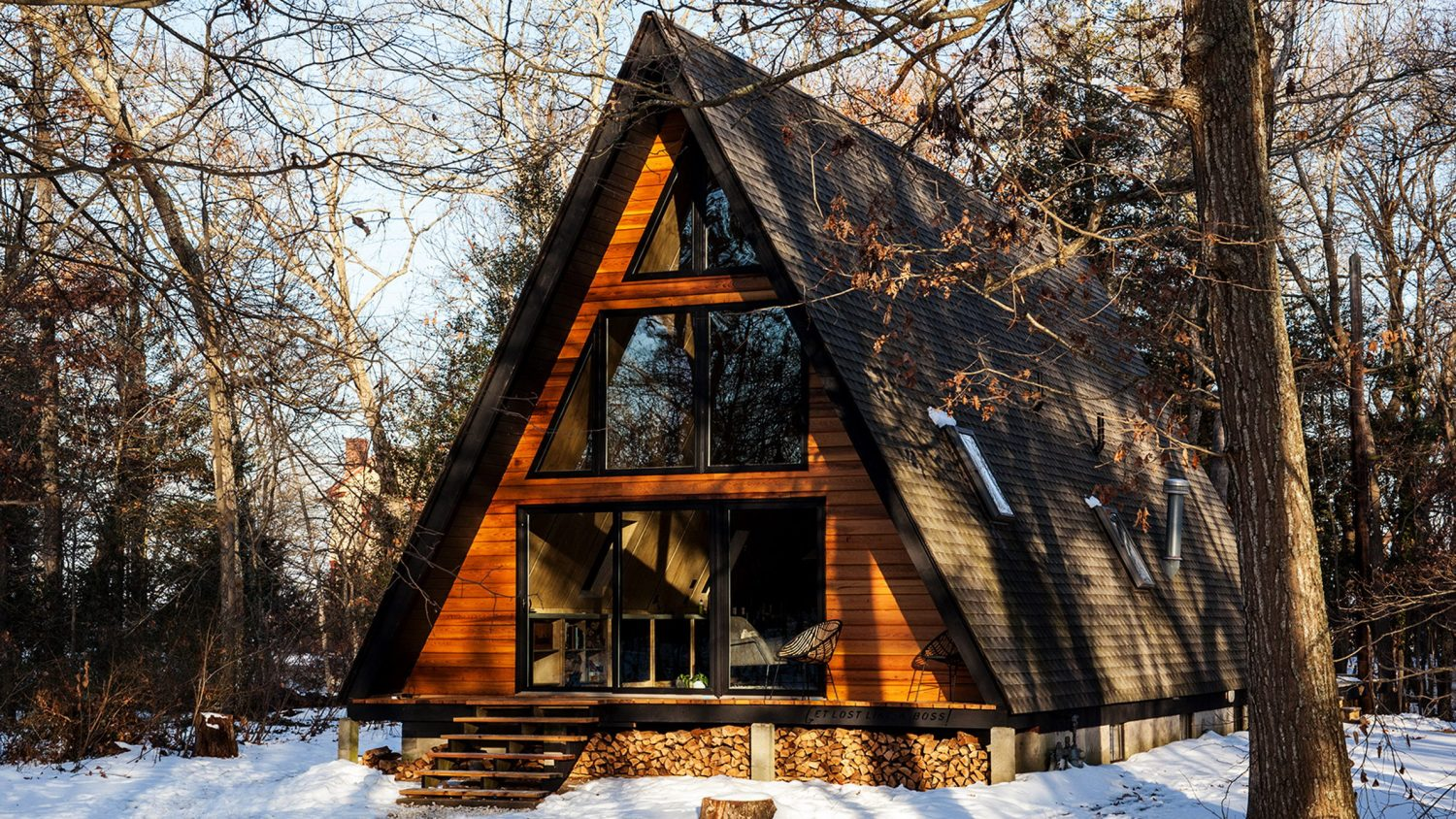 Renovated A-Frame Cabin   Cosy Guest Lodge