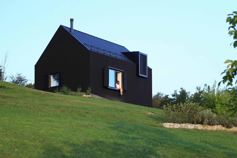 Small Black House by Tomislav Soldo