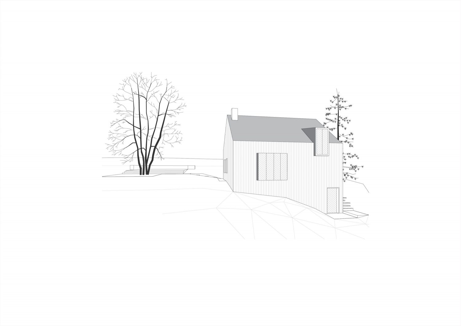 Small Black House by Tomislav Soldo