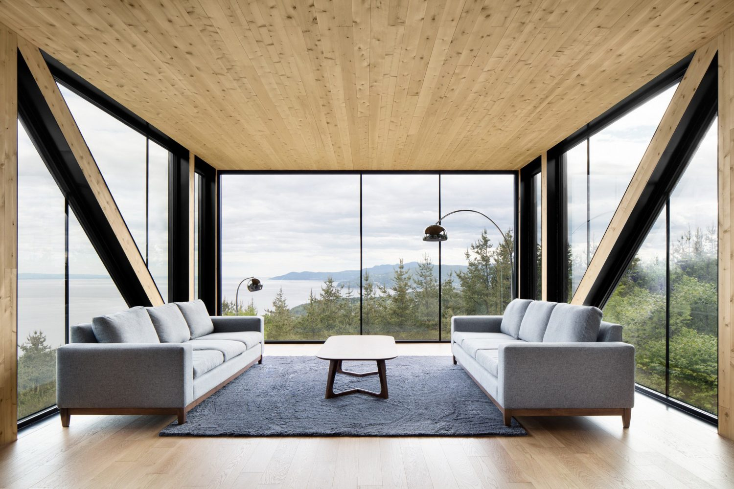 The Blanche Chalet by ACDF Architecture