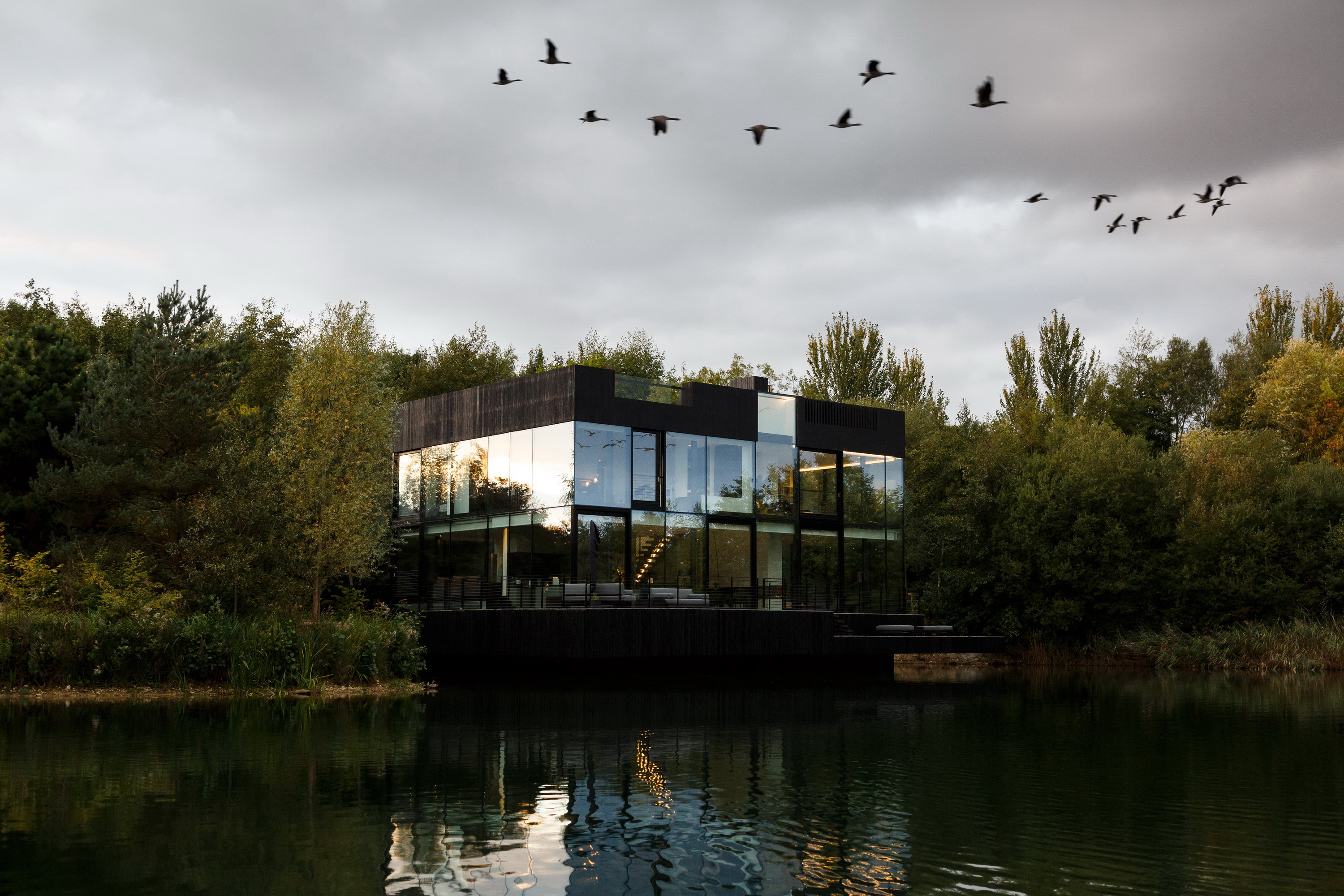 Villa on the Lake by Mecanoo