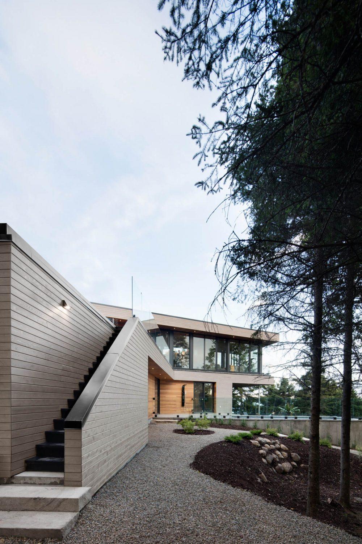 Altaïr House by Bourgeois / Lechasseur architectes