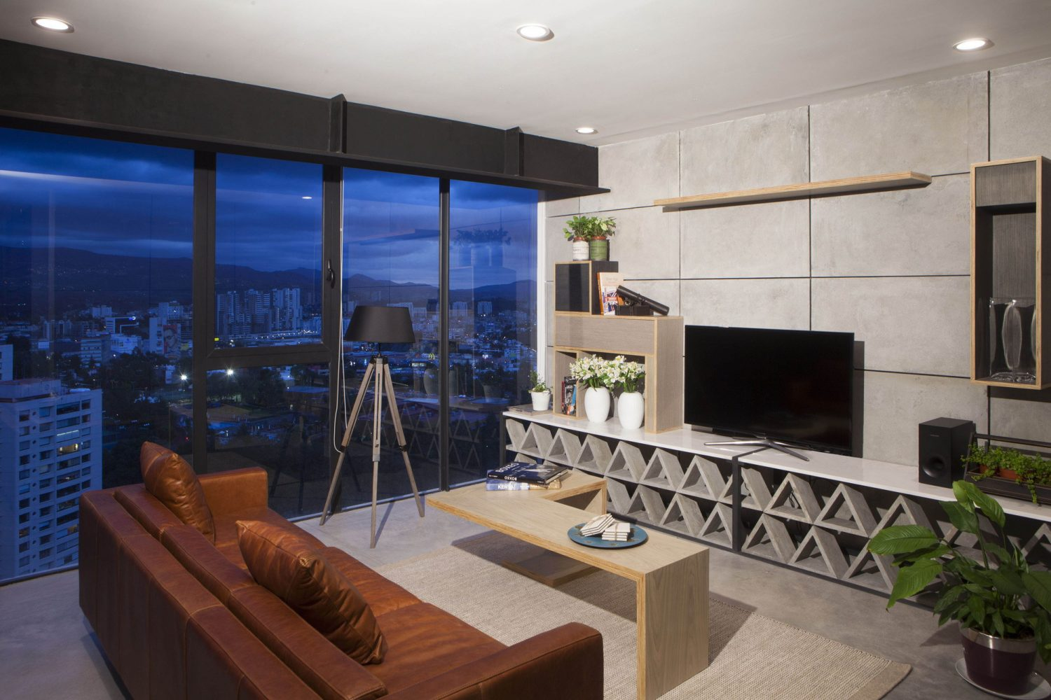Contemporary Apartment in Bosques de las Lomas