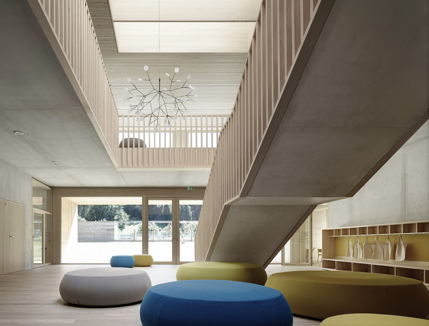 Kindergarten Susi Weigel by Bernardo Bader Architekten