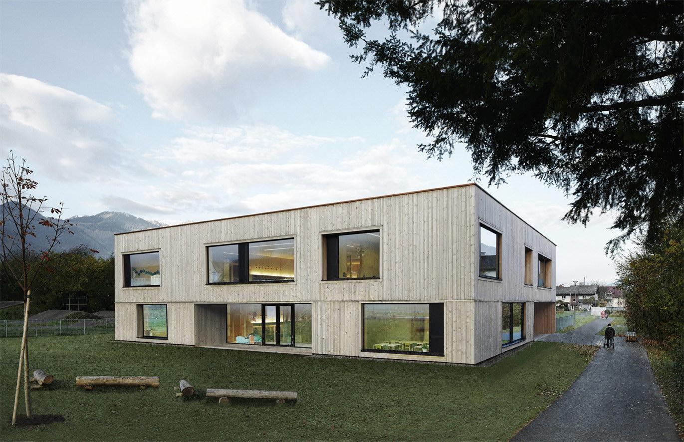 Kindergarten Susi Weigel by Bernardo Bader Architekten