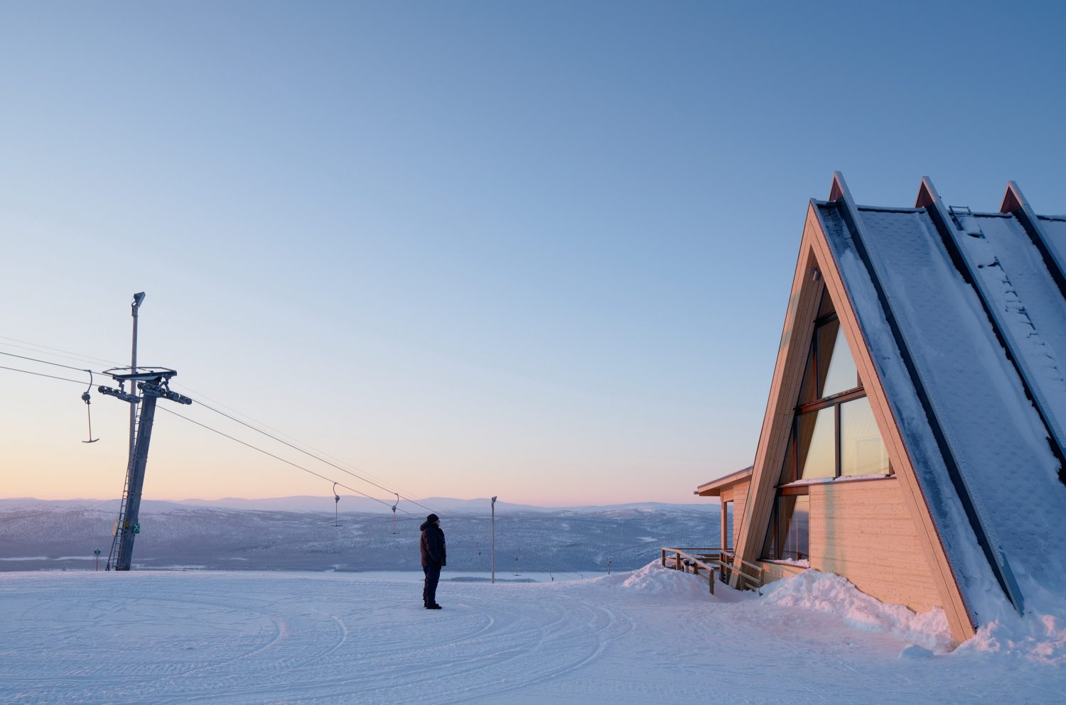 Mountain Restaurant Björk by Murman Arkitekter