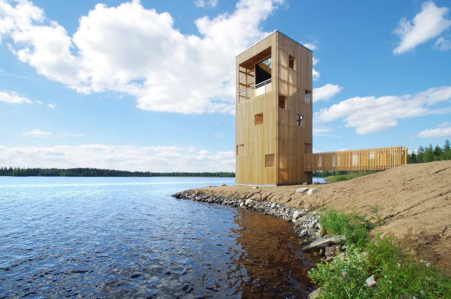 Periscope Tower by OOPEAA