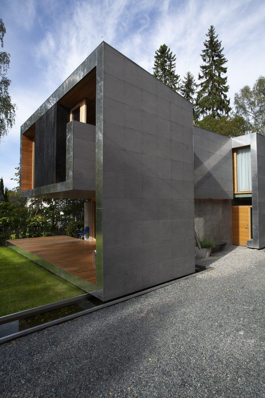 Single-Family House Kollstrøm / Østberg by Knut Hjeltnes
