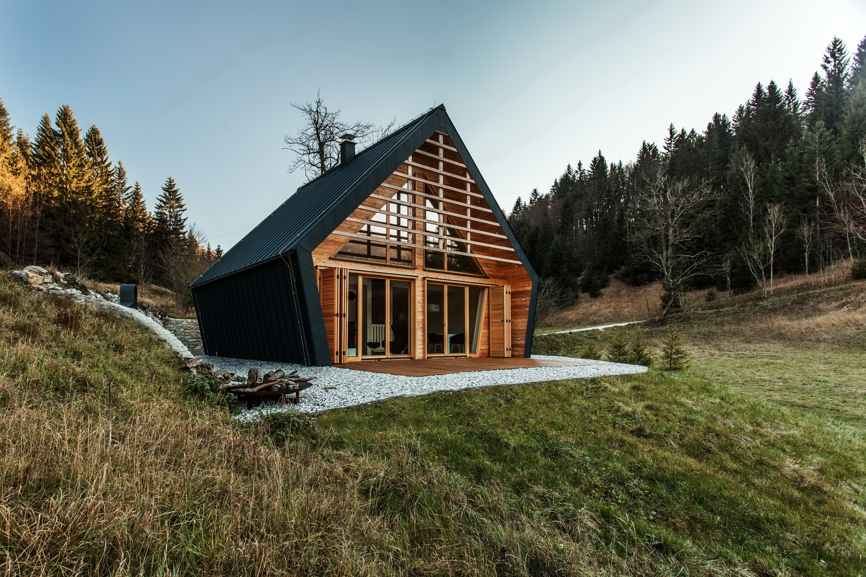 The Wooden House by Studio Pikaplus