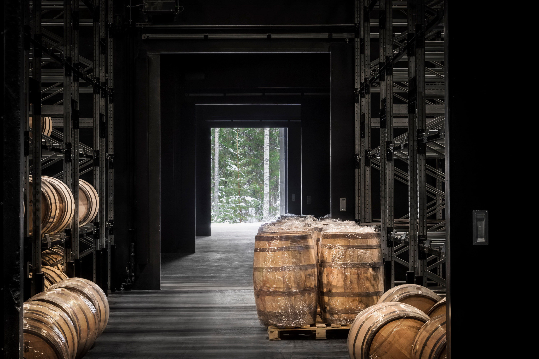 Kyrö Barrell Storage Building by Avanto Architects