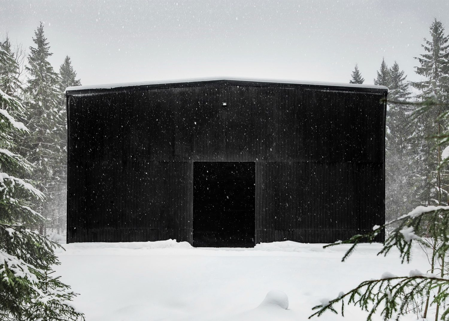 Kyrö Barrell Storage Building by Avanto Architects