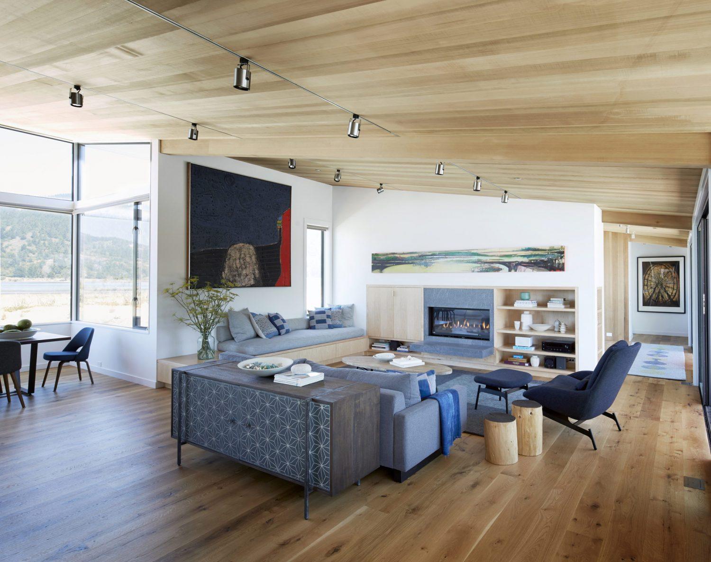 Stinson Beach Lagoon by Turnbull Griffin Haesloop Architects