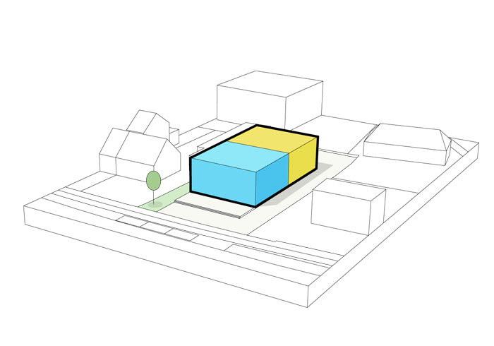 Drongen Furniture Store by WE-S architecten