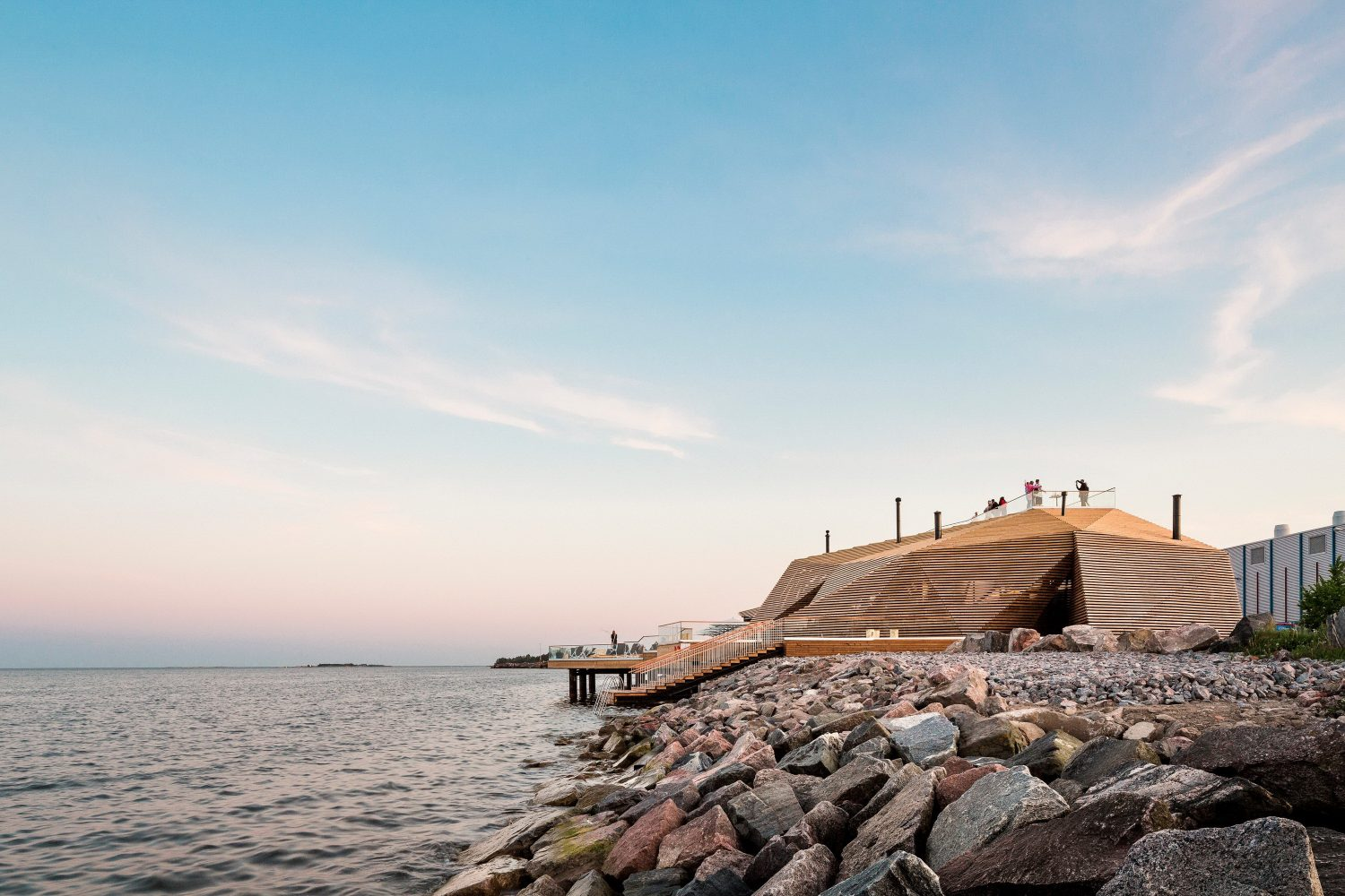 Löyly | Waterfront Sauna by Avanto Architects