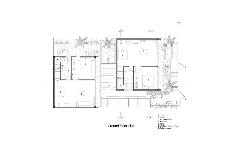 Maison Mansardee House by 85 Design