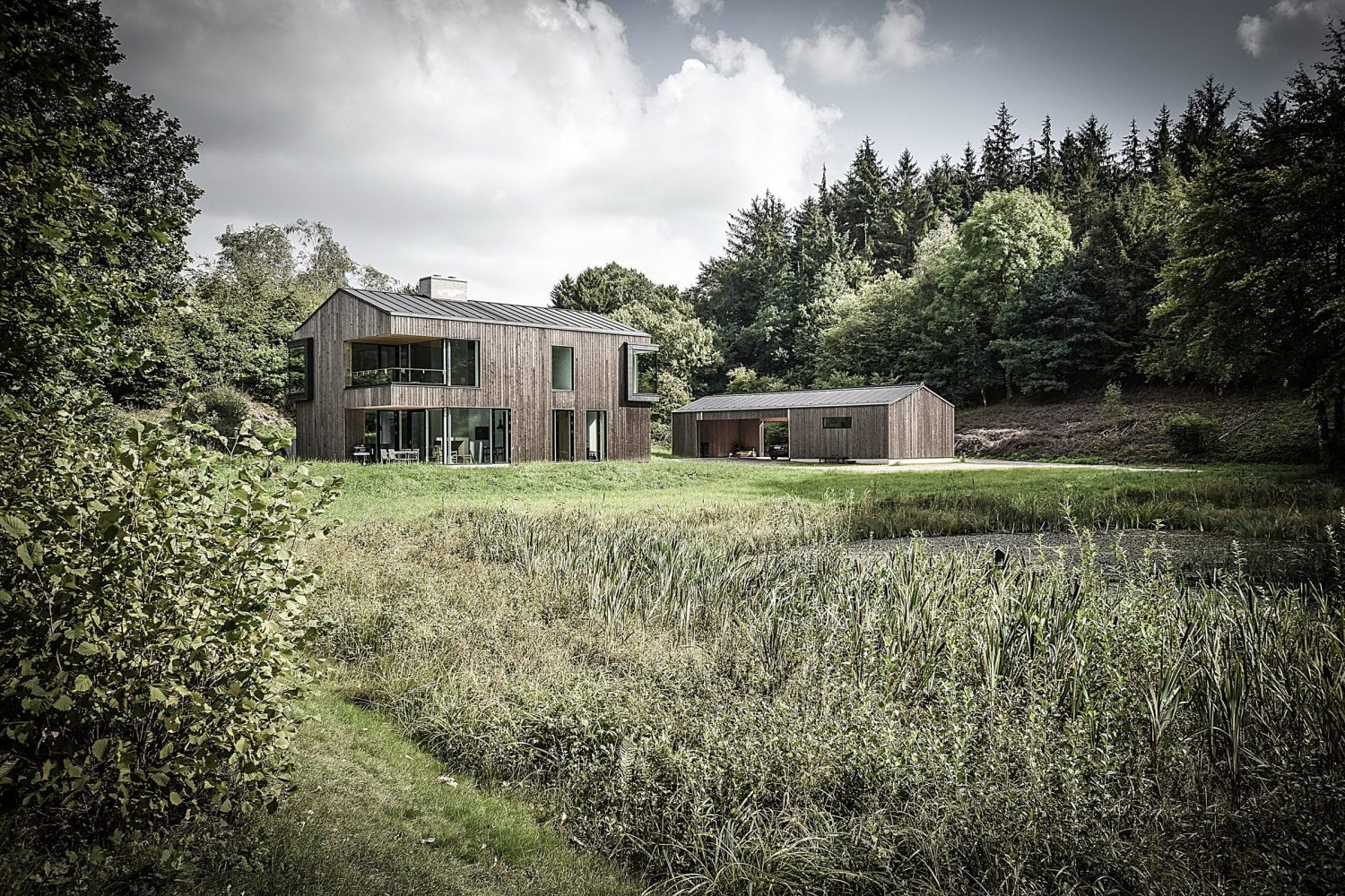 Oesterbye Retreat House by N+P Architecture