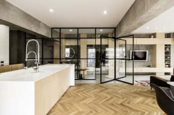 Syncopated, Revolving Door Condo by Tomokazu Hayakawa Architects