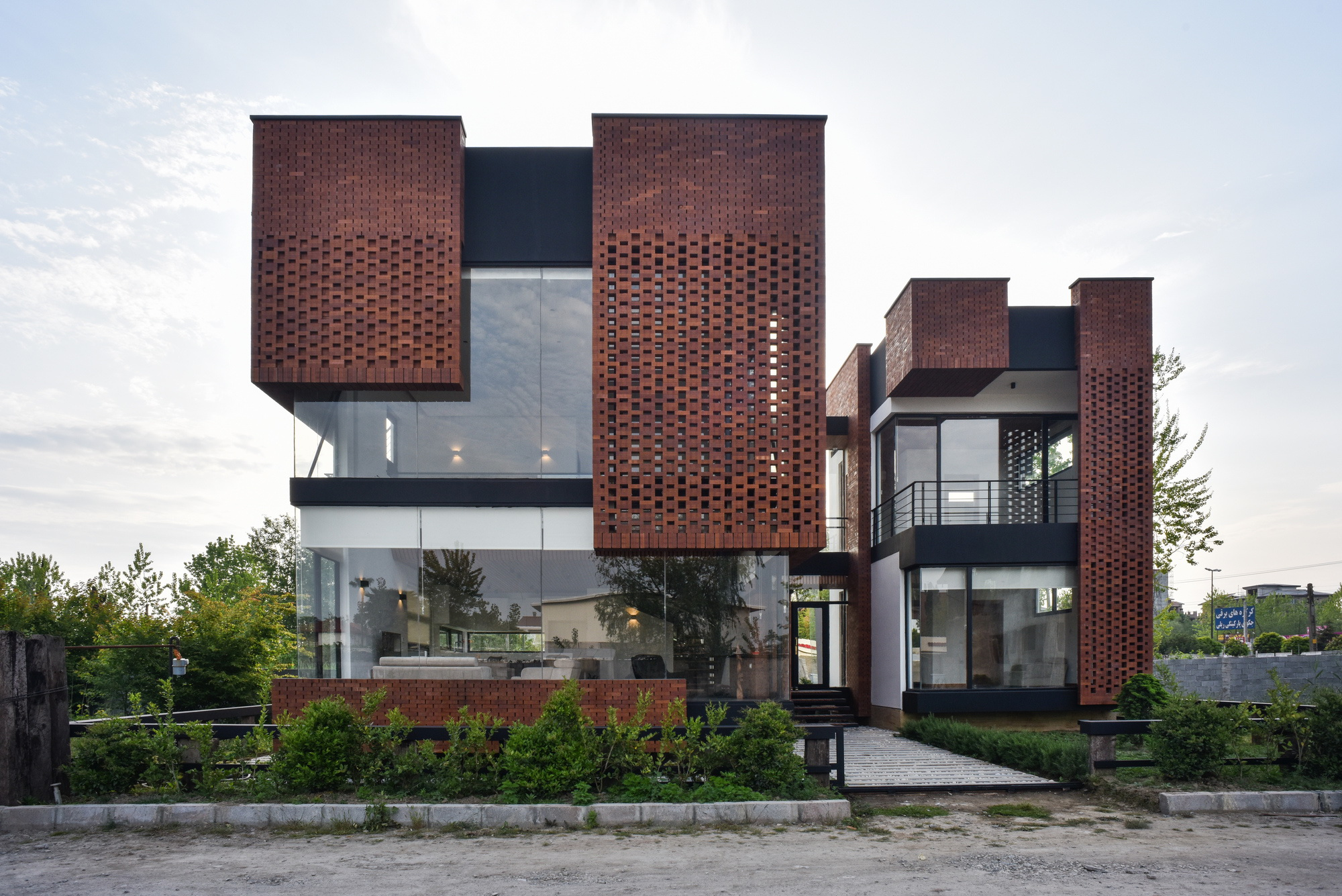 Maziar Brick House by Naghshe Khak Architectural Group