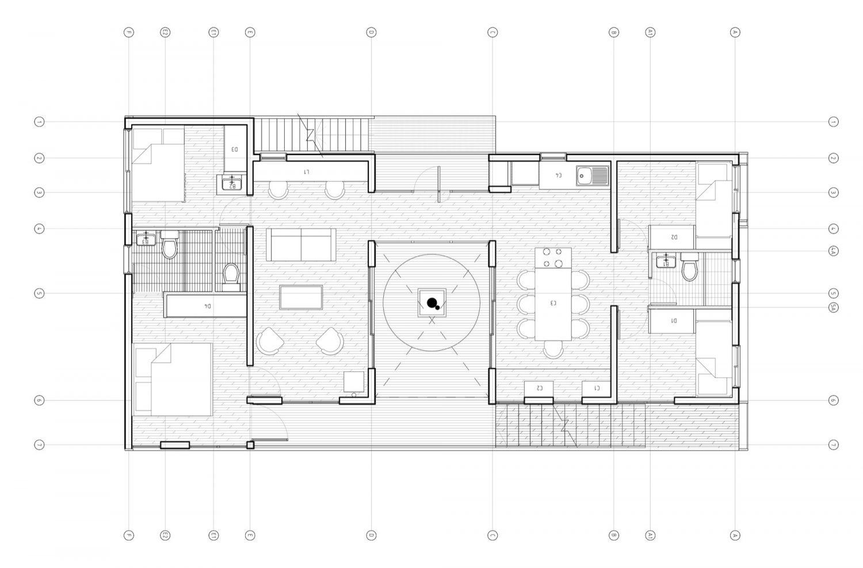 The Folding House by B+V Arquitectos