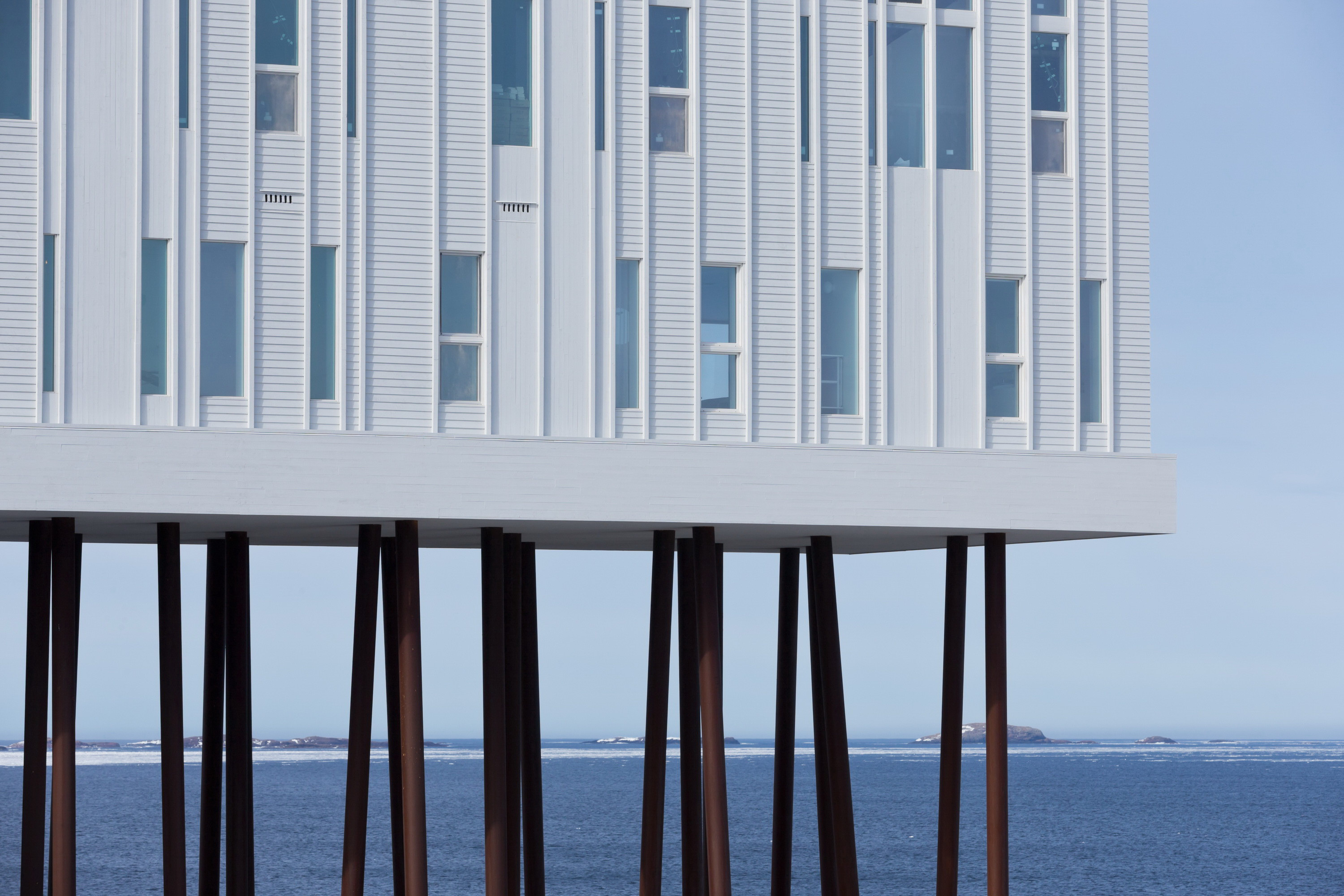 Fogo Island Inn by Saunders Architecture