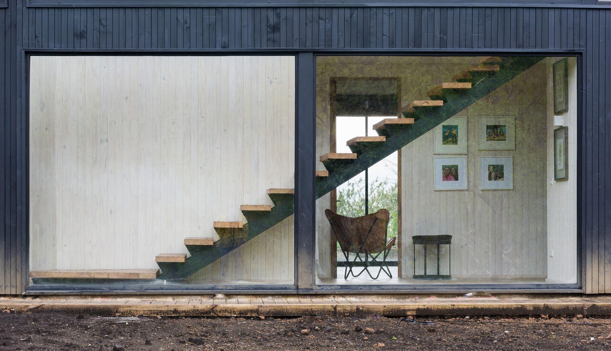 House SM at Calafquén Lake by Claro + Westendarp arquitectos