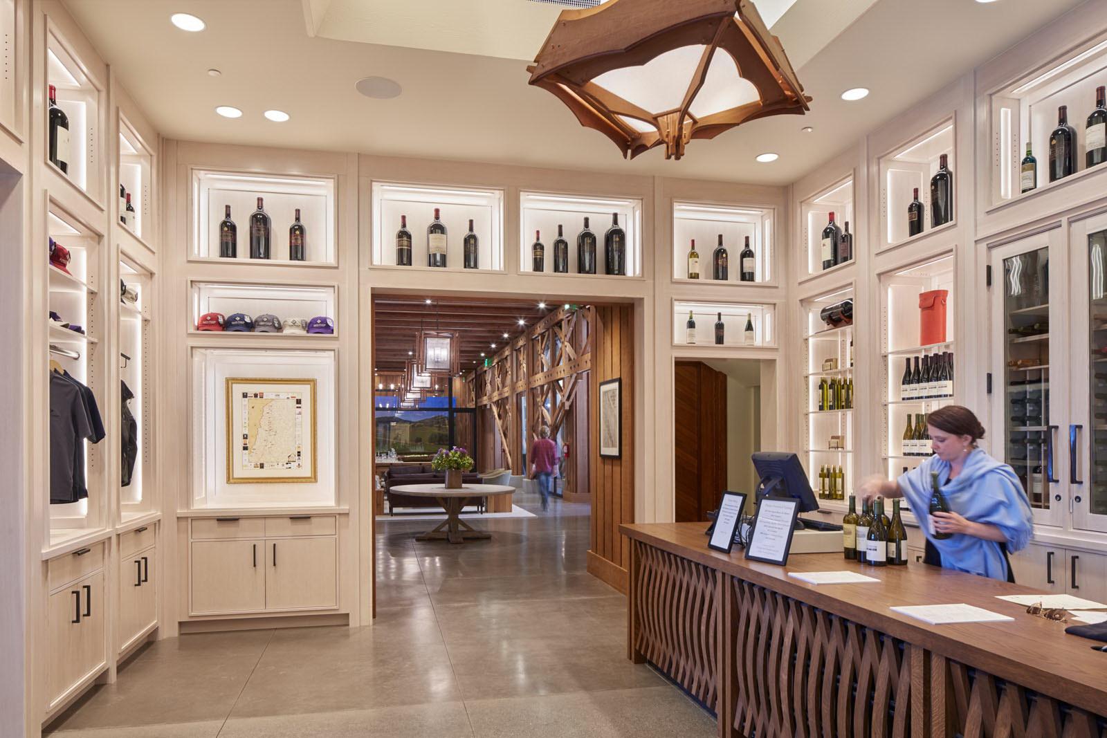 Joseph Phelps Vineyards by BCV Architects