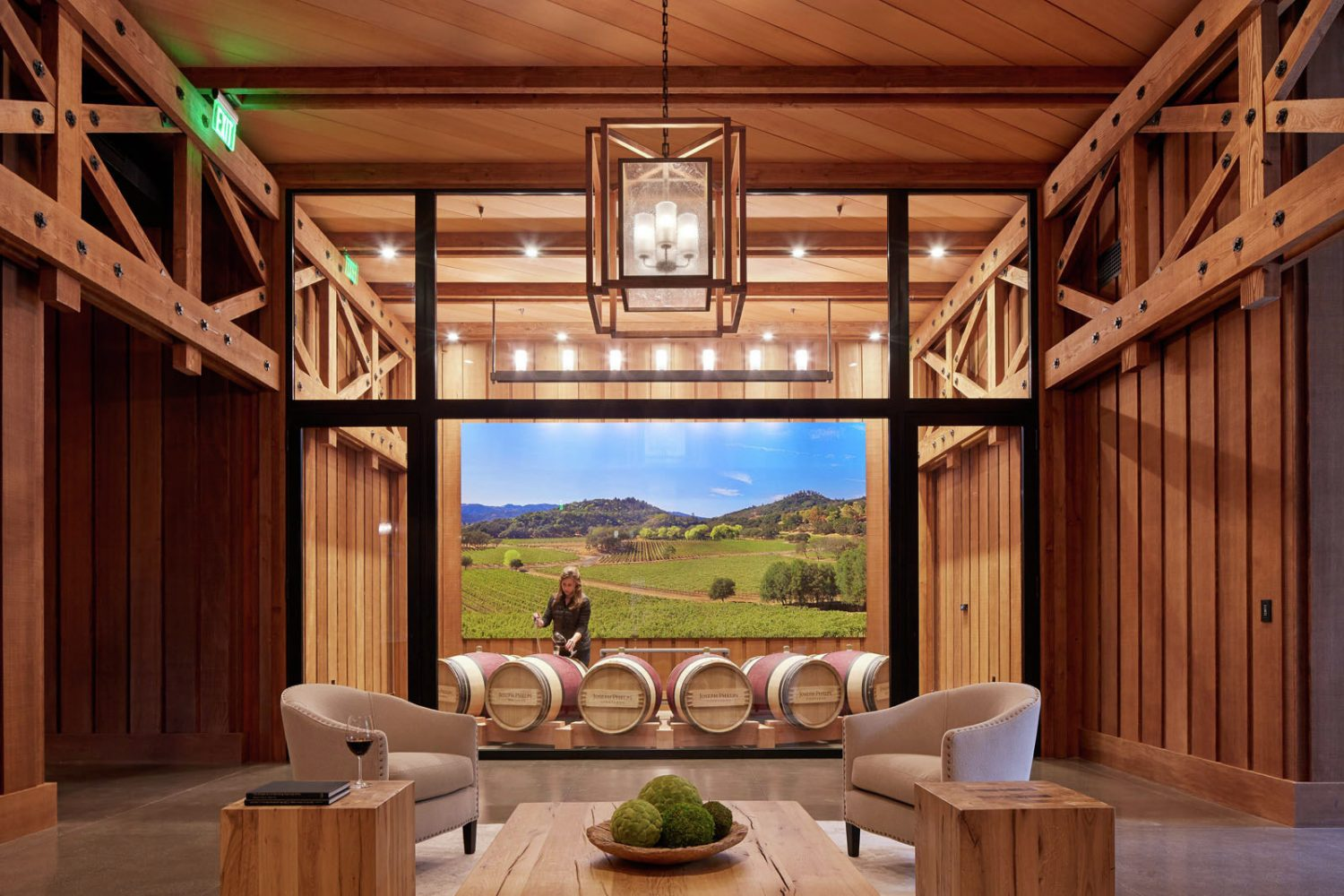 Joseph Phelps Vineyards by BCV Architects