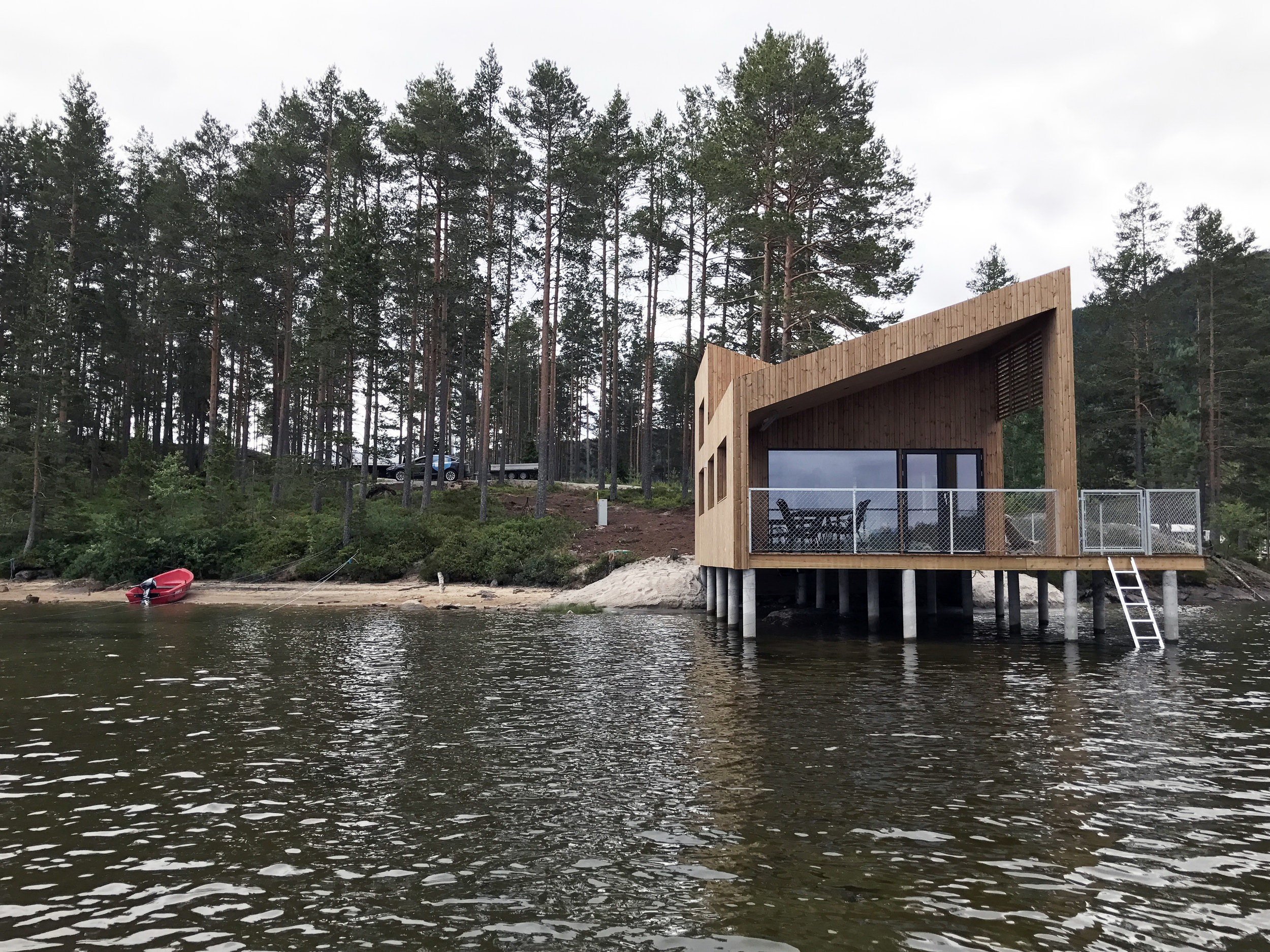 Nisser Micro Cabin by Feste Landscape / Architecture