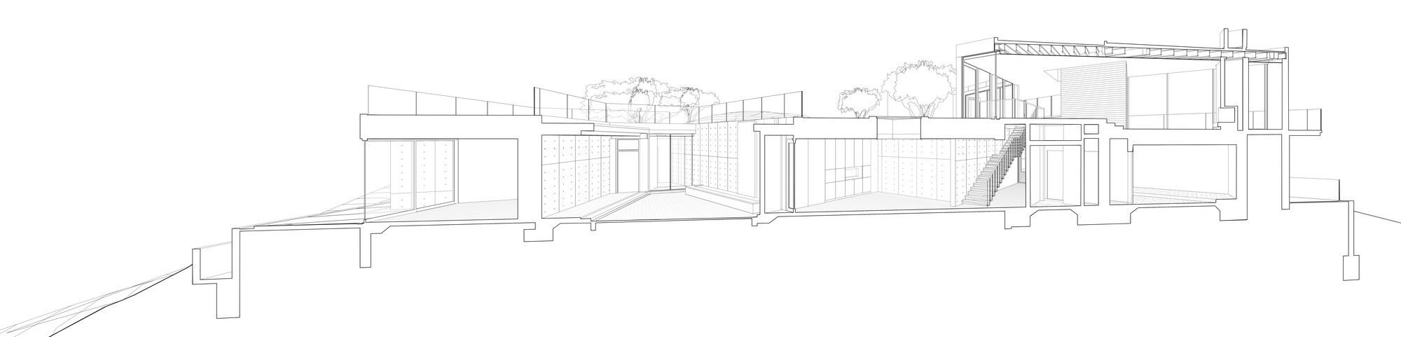 Oak Pass Main House by Walker Workshop