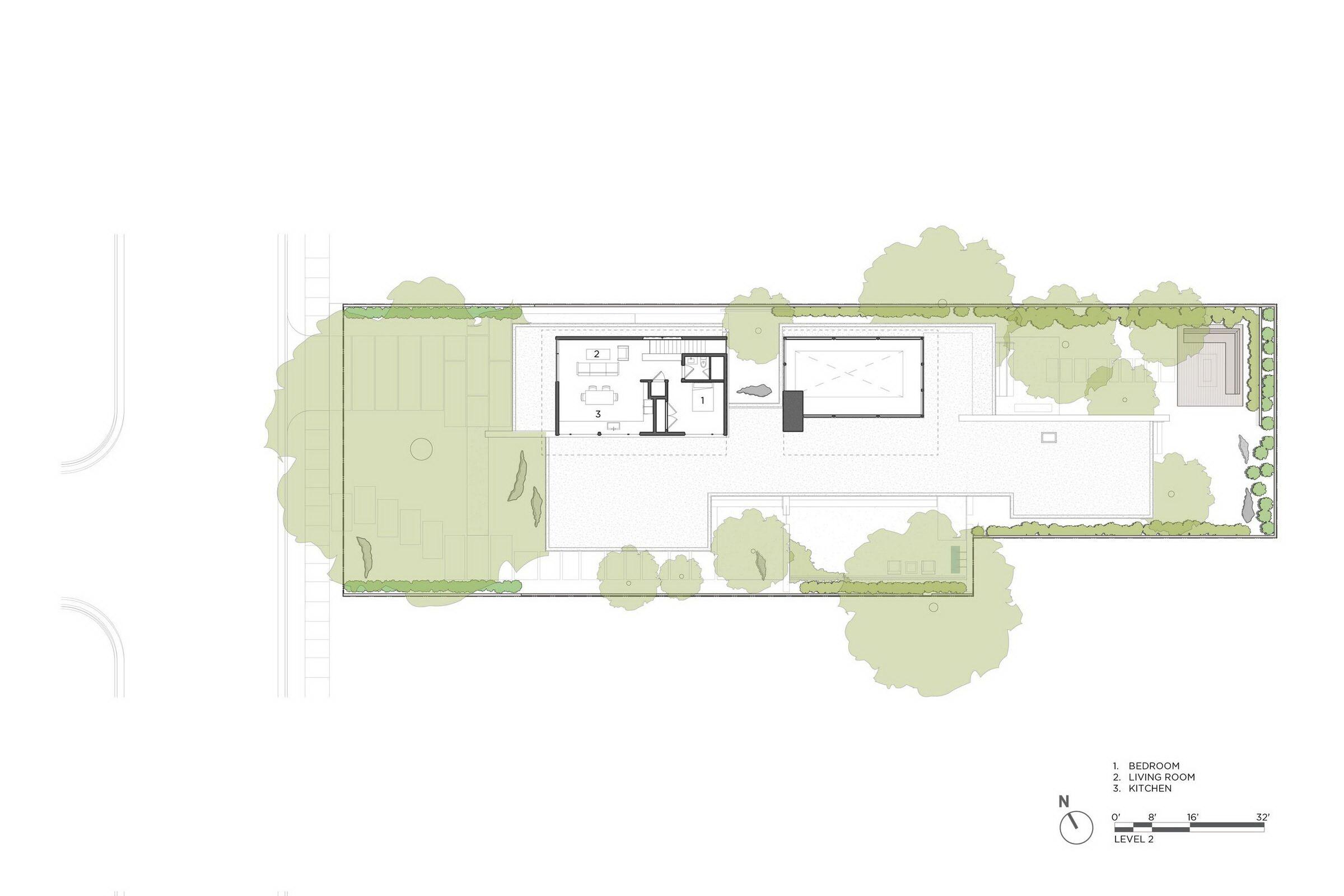 The Sanctuary House by Feldman Architecture