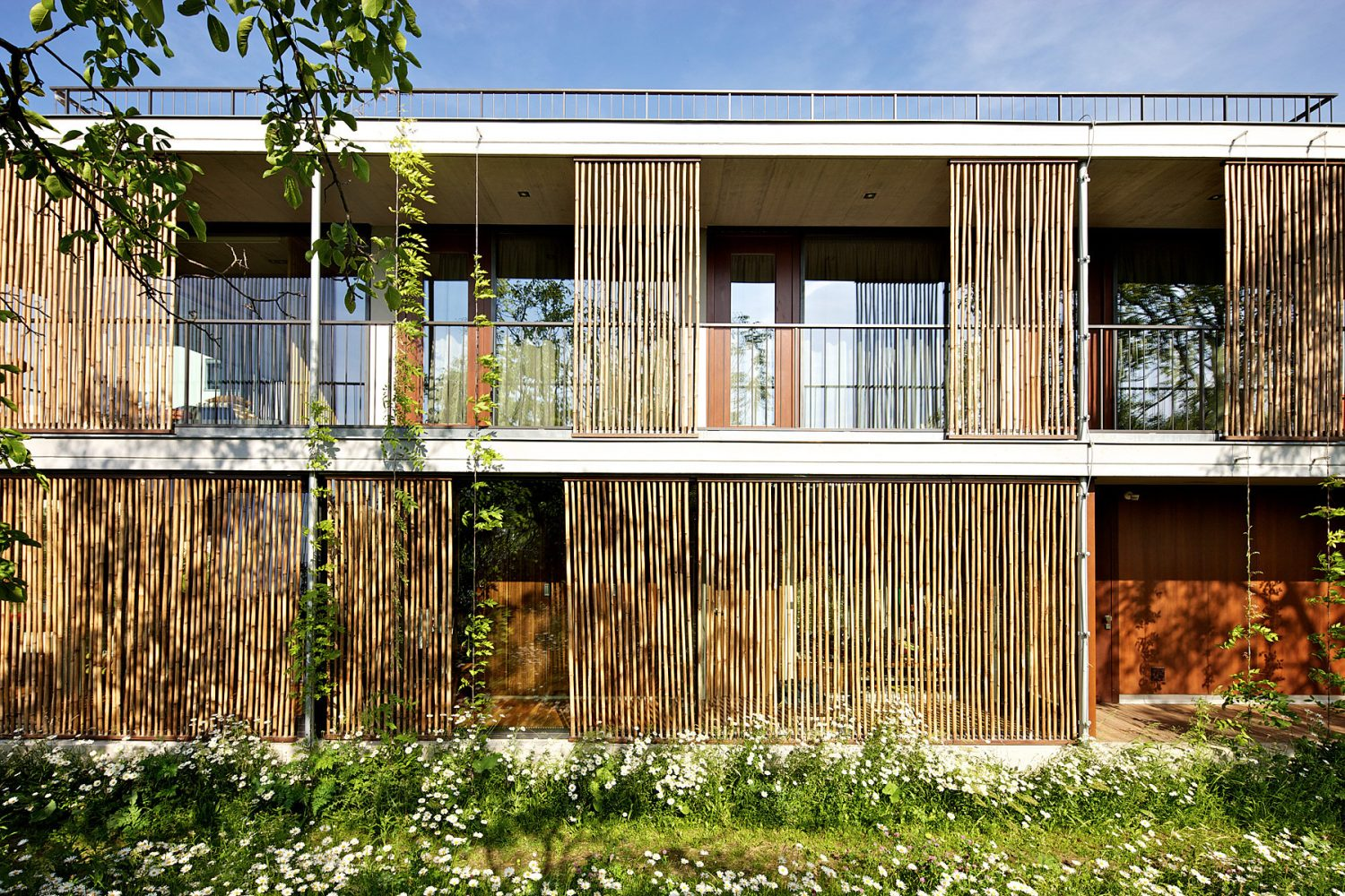 Bamboo House by Atelier Stepan