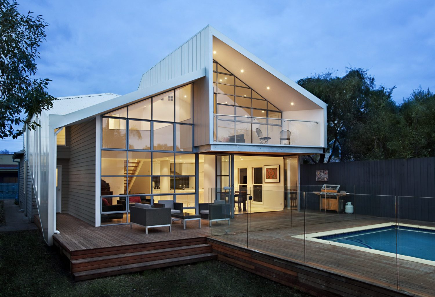 Blurred House by BiLD architecture