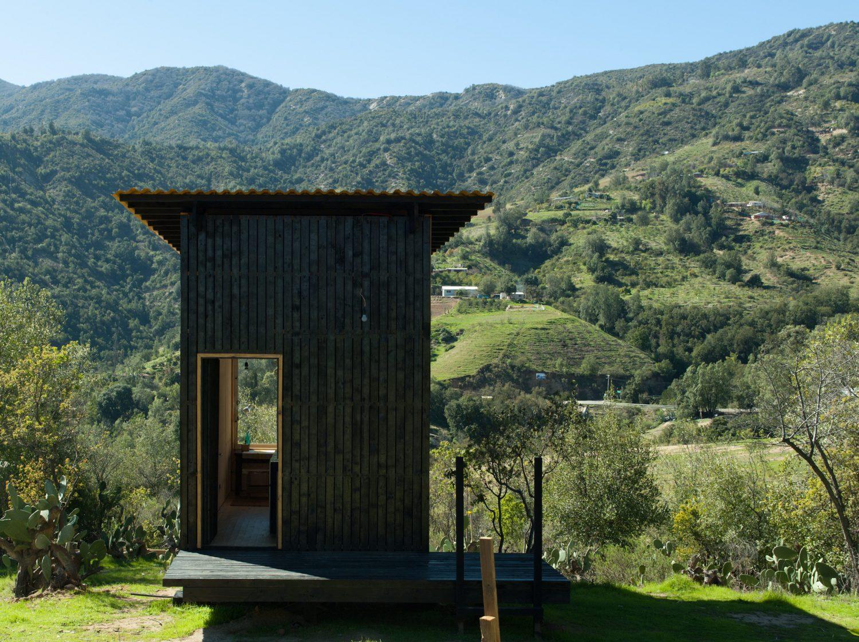 Charred Cabin by DRAA