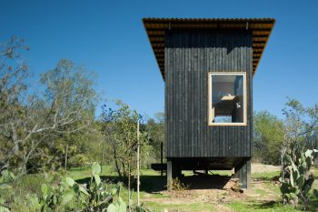 Charred Cabin by DRAA
