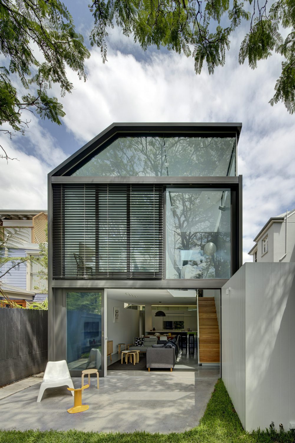 Cosgriff House by Christopher Polly Architect