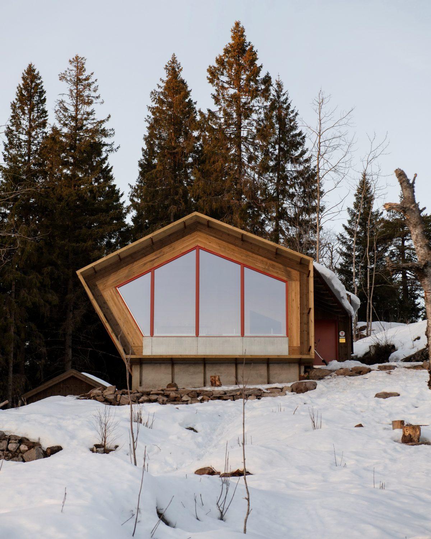 Fuglemyrhytta – Panoramic Self-Service Cabin by Snøhetta
