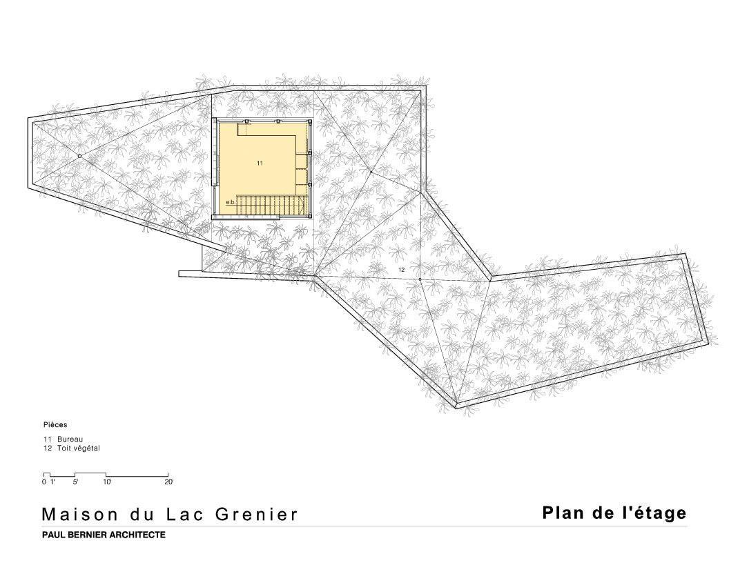 House on Lac Grenier by Paul Bernier