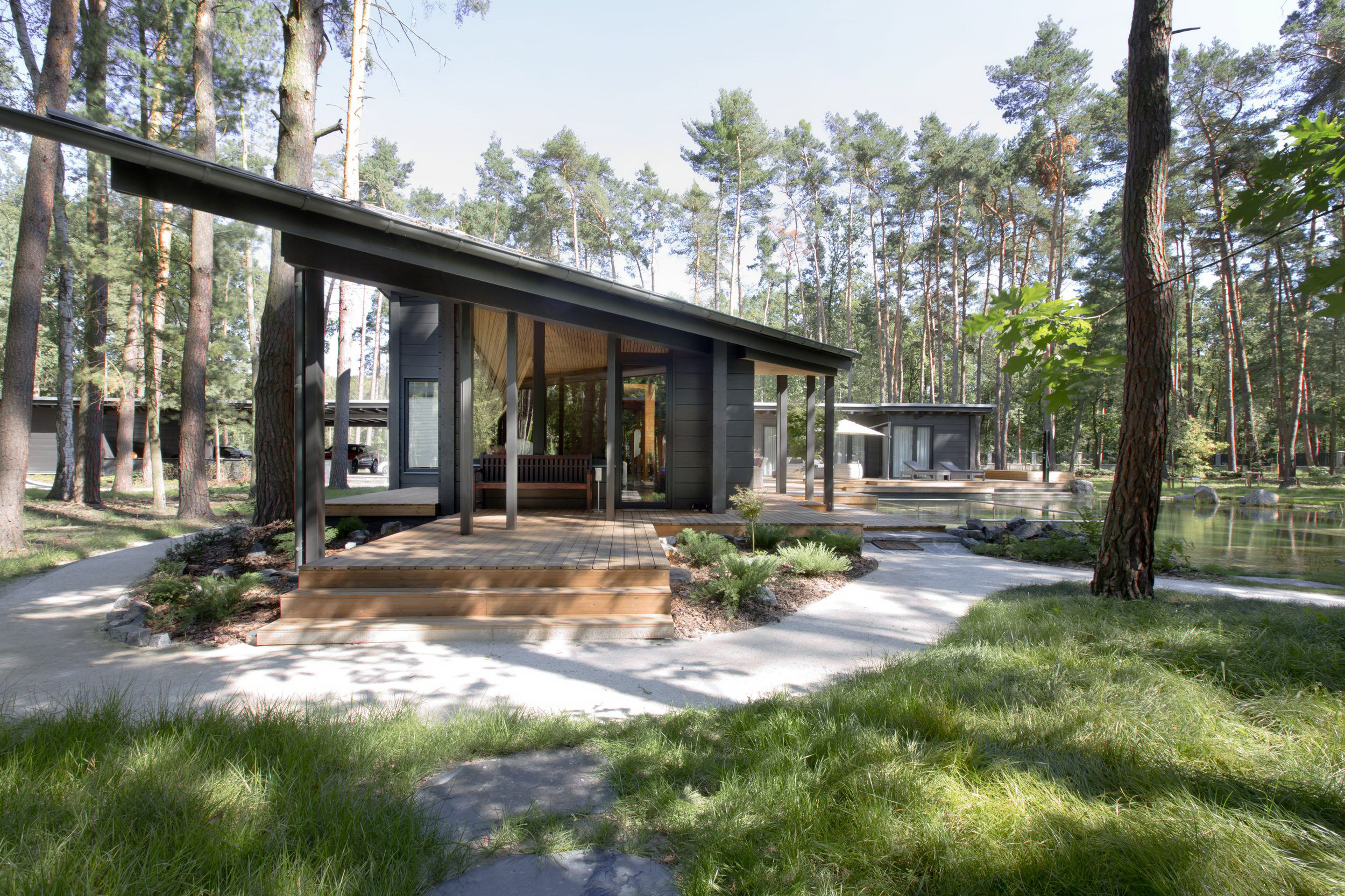 Residence RR | Finnish Honka Log House by monom