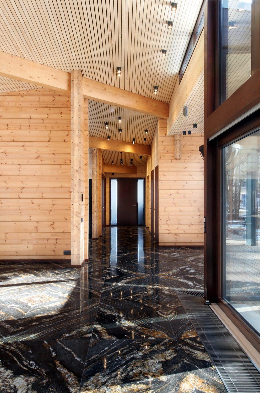 Residence RR | Finnish Honka Log House by monom
