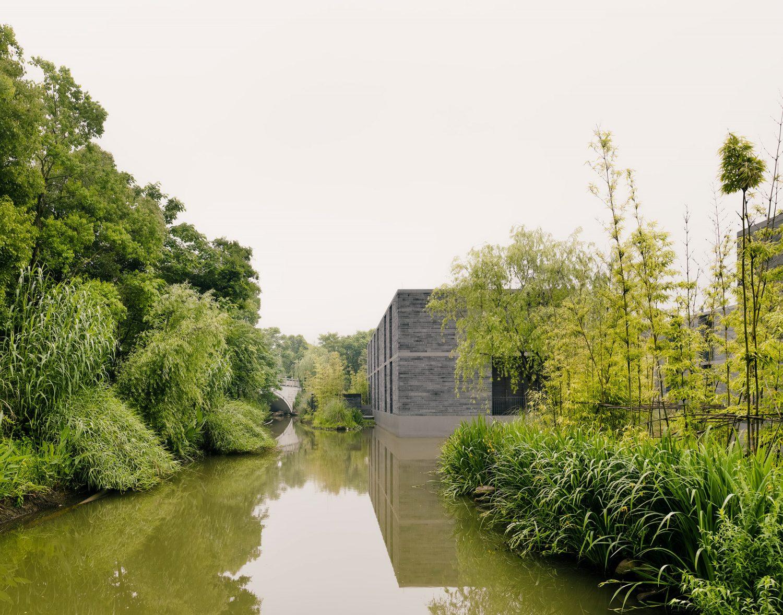 Xixi Wetland Estate by David Chipperfield
