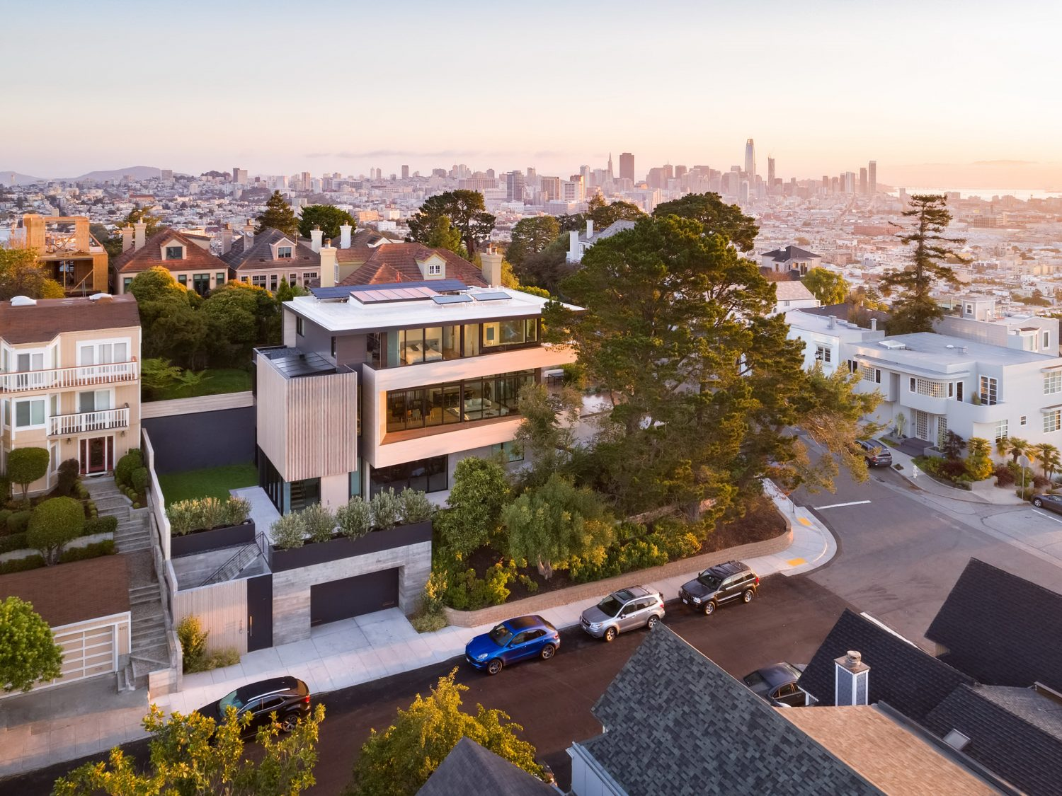 Dolores Heights Residence by John Maniscalco Architecture
