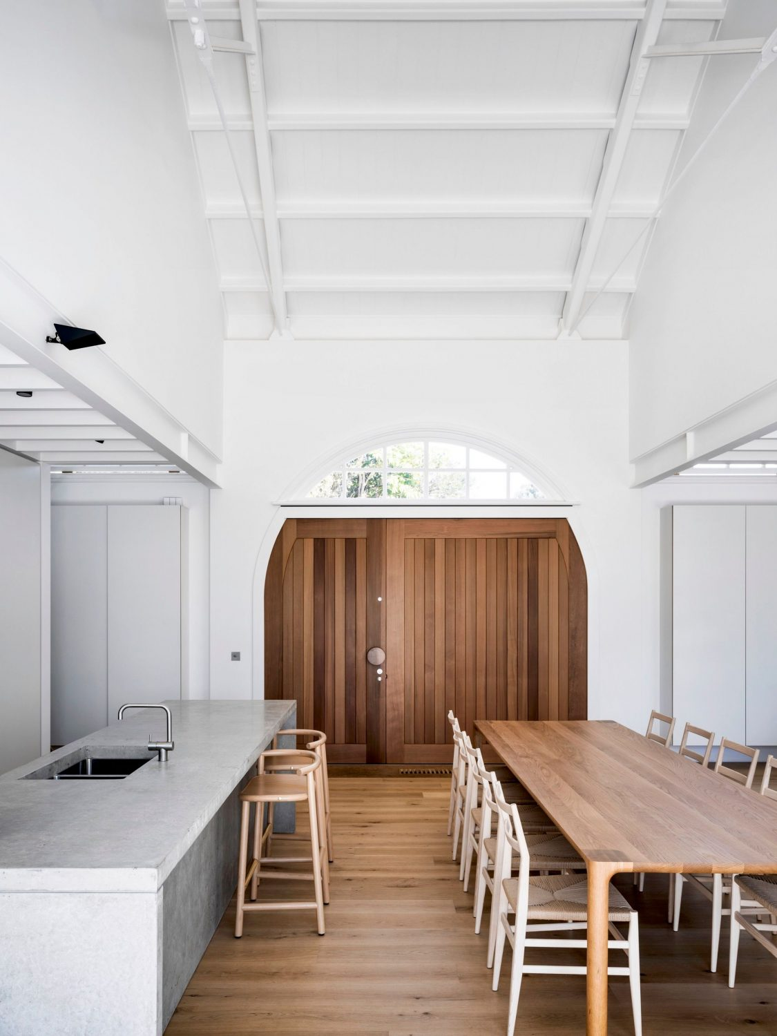Drill Hall House by Tobias Partners Architects